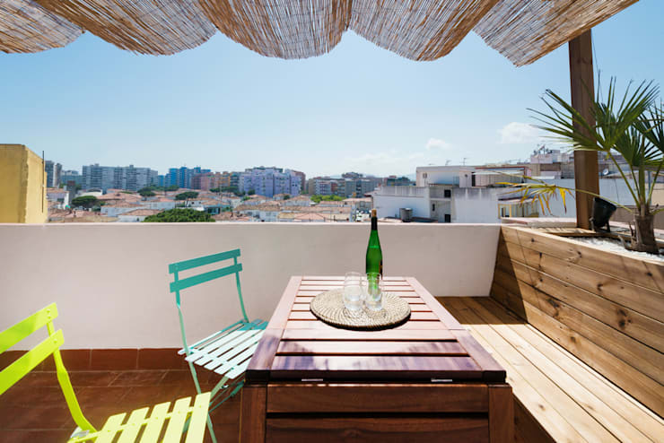 Terrace by LF24 Arquitectura Interiorismo