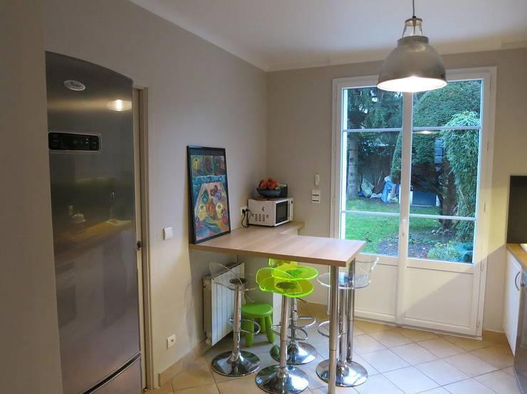 Maison La Celle-Saint-Cloud - 2013: Cuisine de style de style Moderne par Immo-Lift