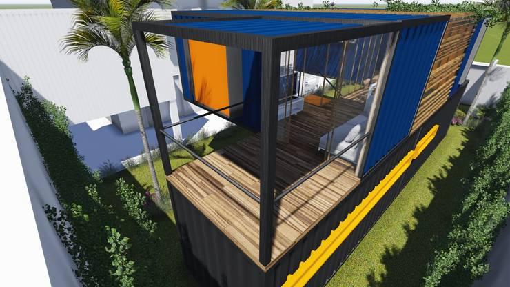 Houses by ESTUDIOFAROL - ARQUITETURA | DESIGN | URBANISMO, Modern Iron/Steel