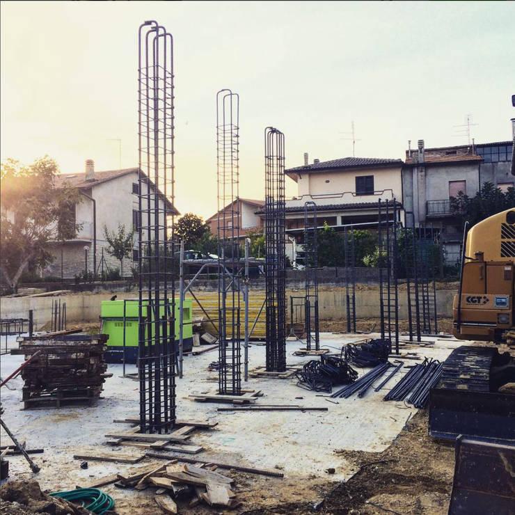 PRIVATE HOME IN PERUGIA - 2015|+297.00 : Case in stile in stile Moderno di Cacciamani Diego Architetto