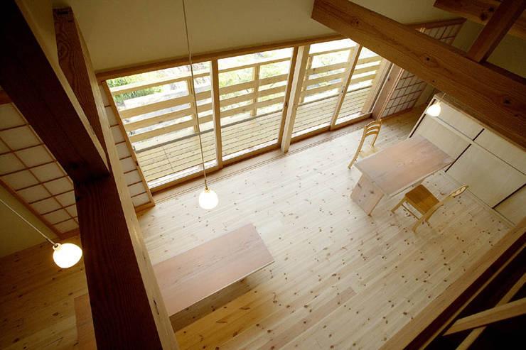 岩崎の家: 祐成大秀建築設計事務所が手掛けたダイニングです。