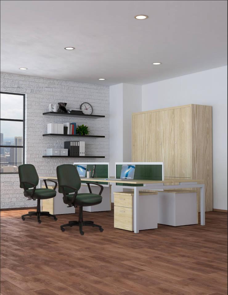 http://requiez.com/productos/linea-operativa/rs-460_02: Oficinas y tiendas de estilo  por Grupo Requiez, SA de CV