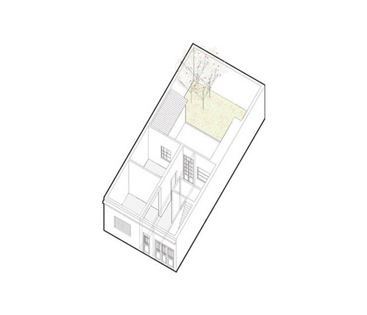 Rumah oleh IR arquitectura, Modern