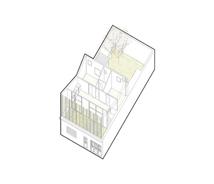 Casa Silvia y Omar: Casas de estilo  por IR arquitectura
