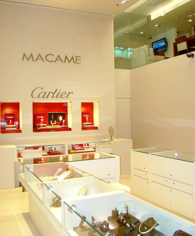 Macame // Andares, GDL.: Espacios comerciales de estilo  por TocoMadera