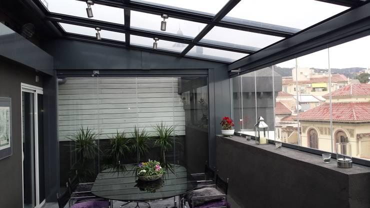 cerramientos terrazas:  de estilo  de aluspai