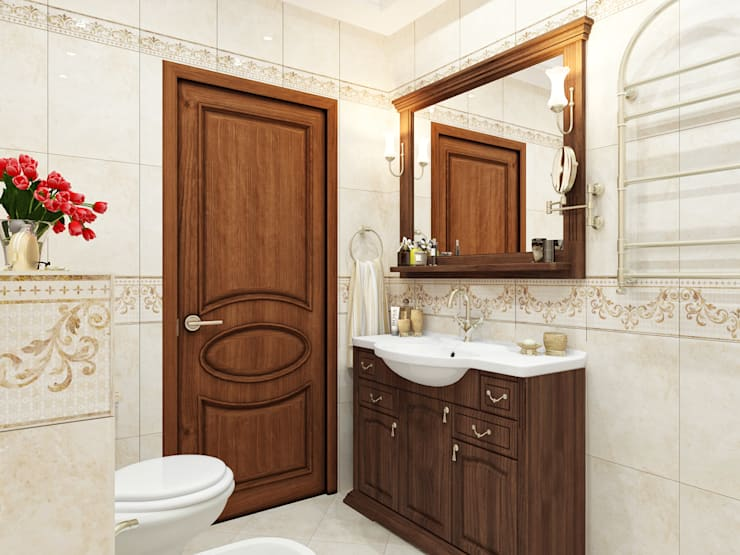 Baños de estilo  por Оксана Мухина