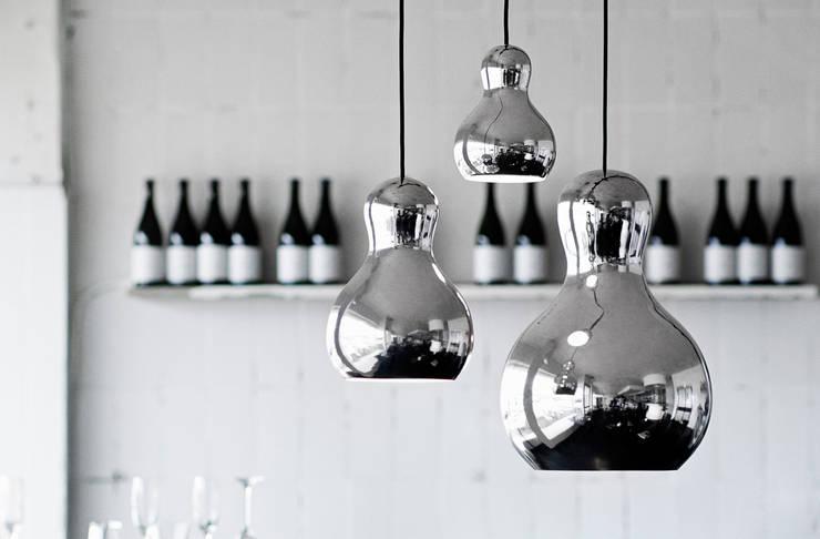 Calabash: Salas de estilo  por GEO Iluminación Aplicada