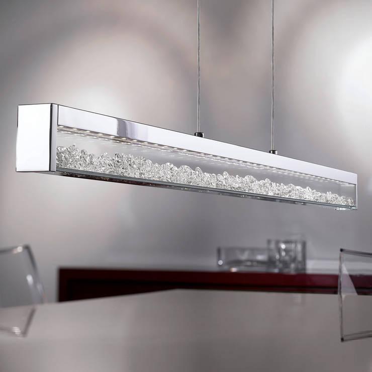 Cardito: Cocina de estilo  por GEO Iluminación Aplicada