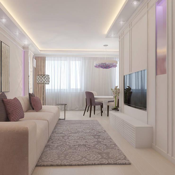 Living room by Частный дизайнер и декоратор Девятайкина Софья, Classic