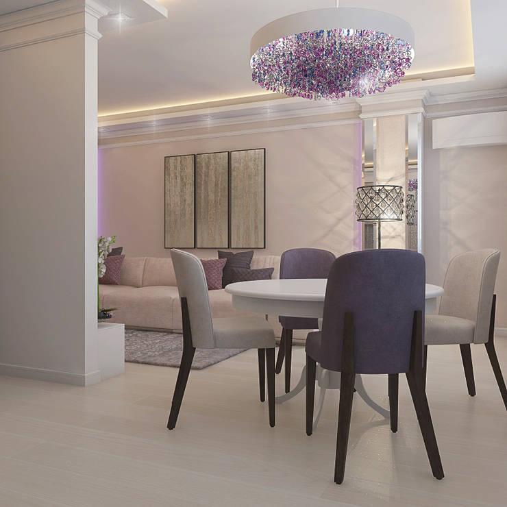 Salas de jantar clássicas por Частный дизайнер и декоратор Девятайкина Софья Clássico