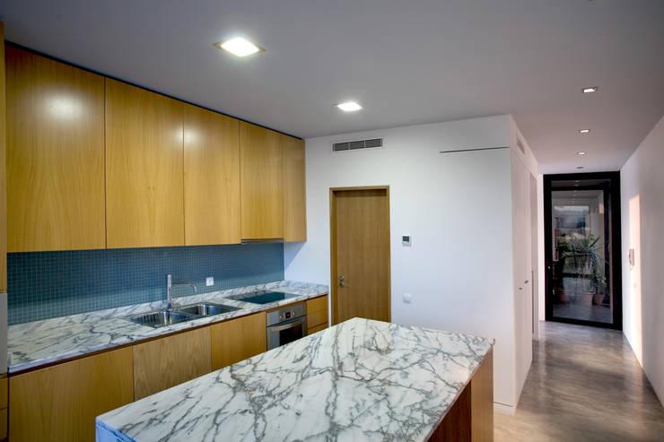 Cocinas de estilo  por GRAU.ZERO Arquitectura