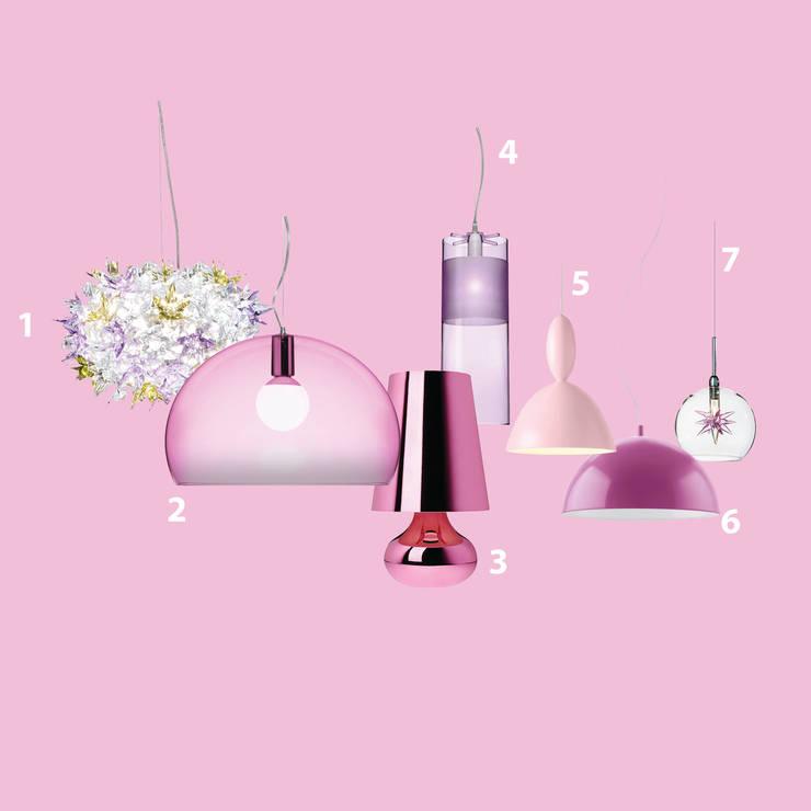 Iluminación decorativa: Salas de estilo  por GEO Iluminación Aplicada