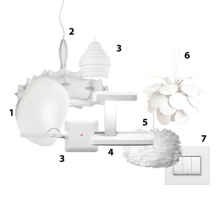 Iluminación decorativa: Recámaras de estilo  por GEO Iluminación Aplicada