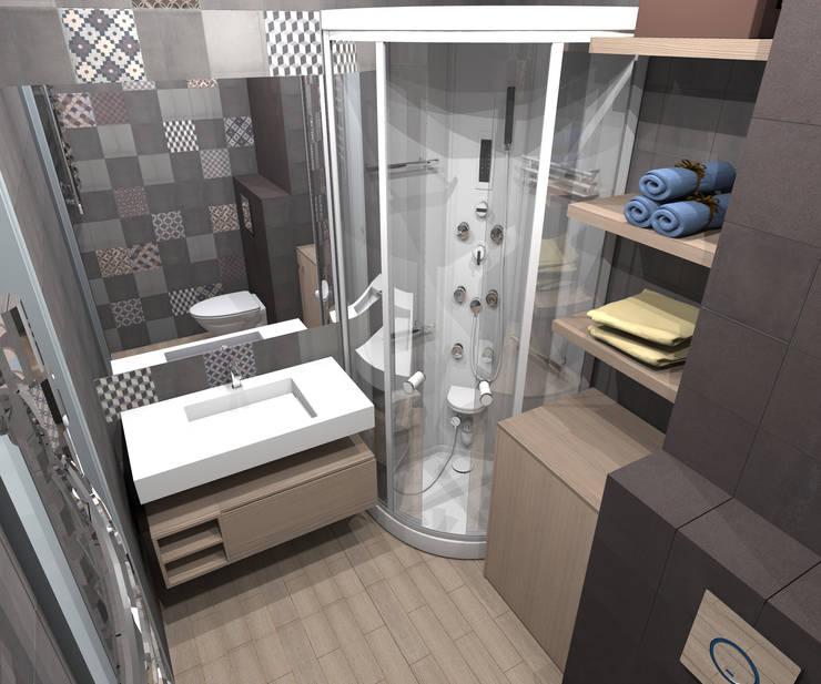 Клуб одиноких сердец: Ванные комнаты в . Автор – Interika
