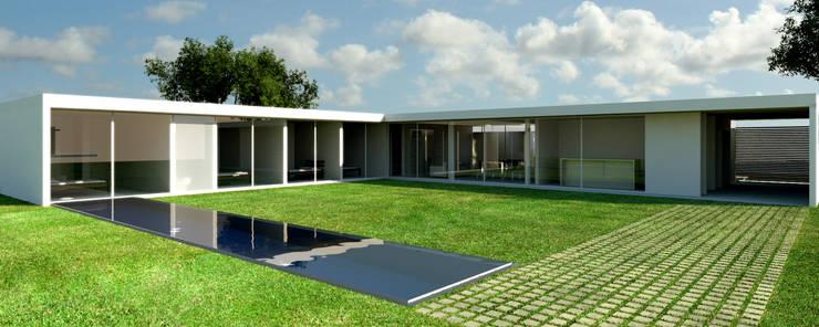 Residência Estância Quintas da Alvorada Casas modernas por MeiaUm Arquitetos Moderno
