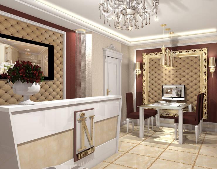 Офис компании: Рабочие кабинеты в . Автор – Interika