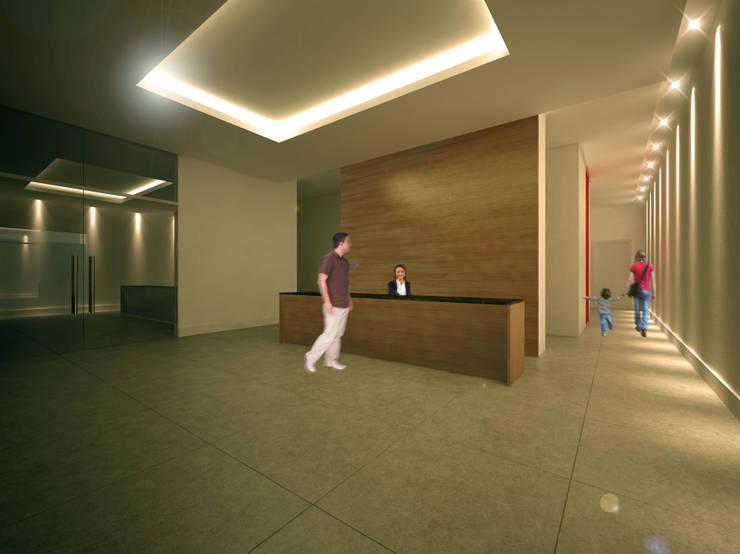 URBAN 320: Casas  por MeiaUm Arquitetos