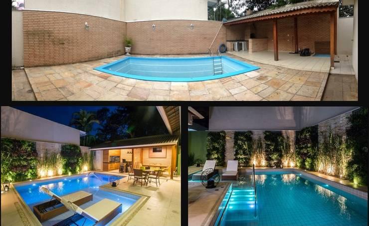 Residência Interlagos:   por Nadia Takatama arquitetura e interiores,