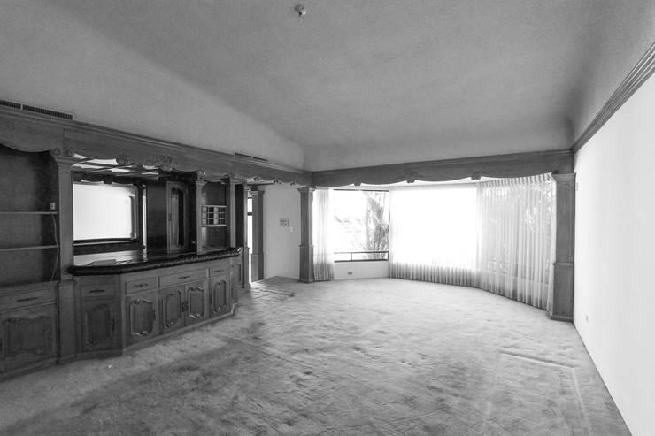 Sala Estado Original: Salas de estilo moderno por Juan Luis Fernández Arquitecto