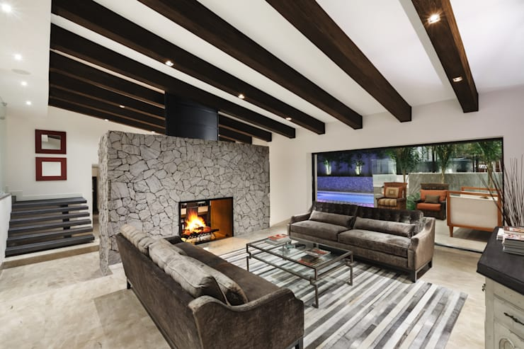 客廳 by Juan Luis Fernández Arquitecto