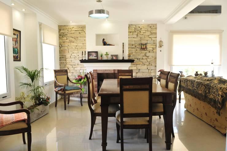 Гостиная в . Автор – Opra Nova - Arquitectos - Buenos Aires - Zona Oeste,