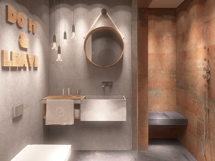 Bathroom by FAMM DESIGN