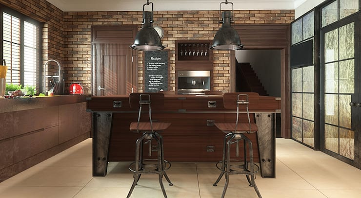 Kitchen by FAMM DESIGN