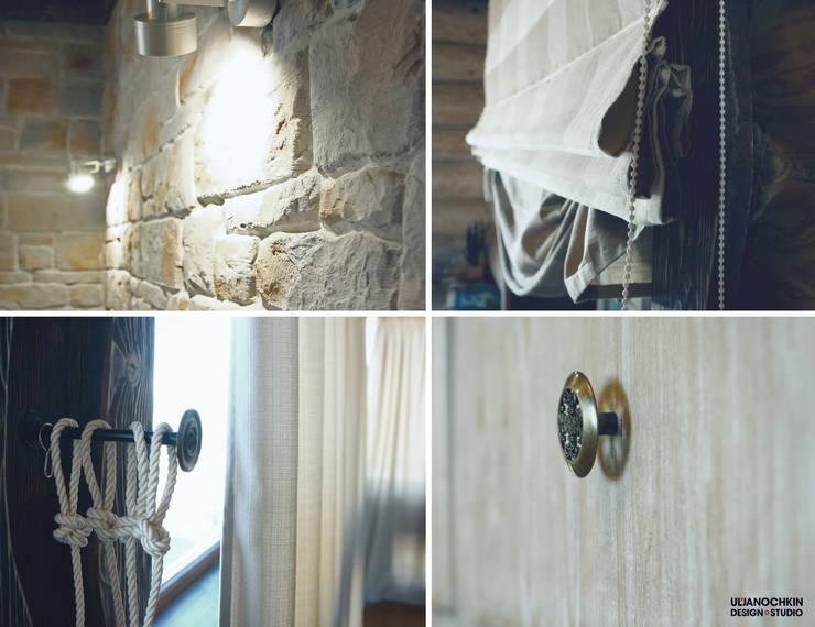 Деревянный дом : Стены в . Автор – ULJANOCHKIN DESIGN*STUDIO,