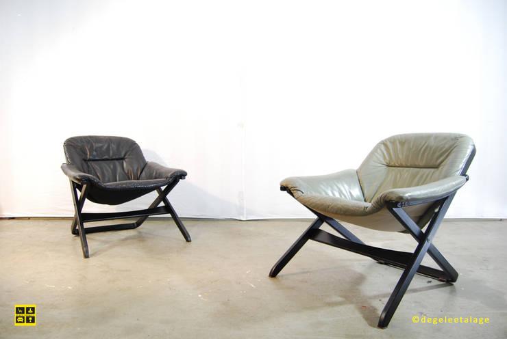 armchair by Göte Möbel / Sweden / 80's:  Woonkamer door De gele etalage