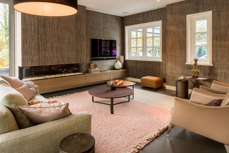 Living room by Design Gietvloer