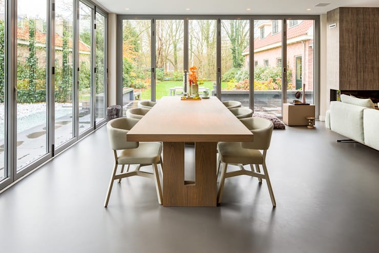 Phòng ăn by Design Gietvloer