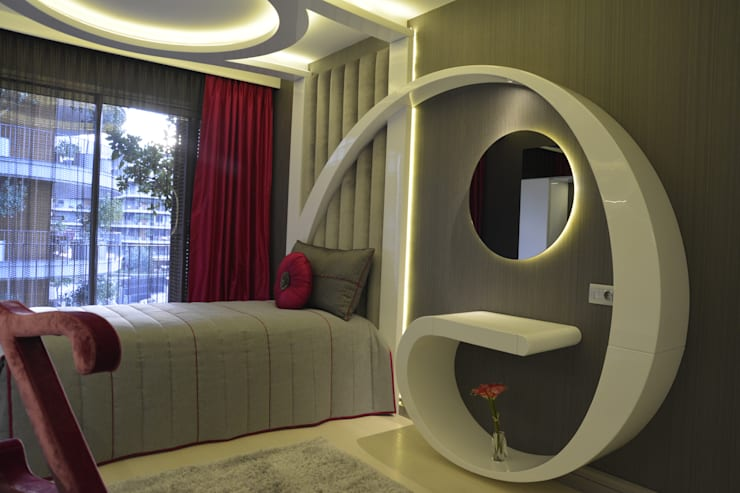 modern Bedroom by ÜNMO
