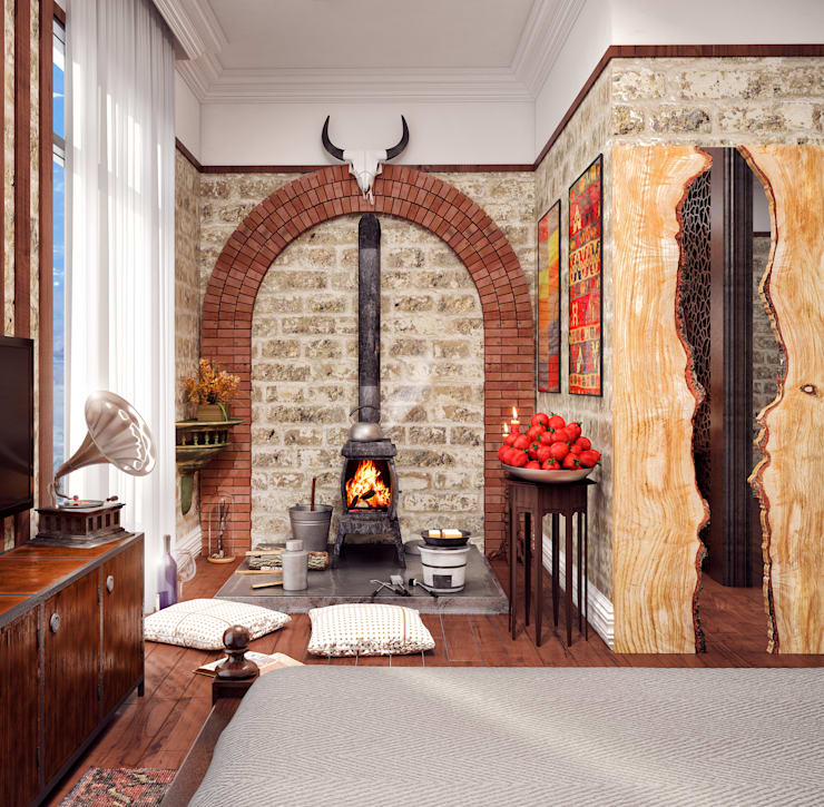 ÜNMO – Ünmo: modern tarz Oturma Odası