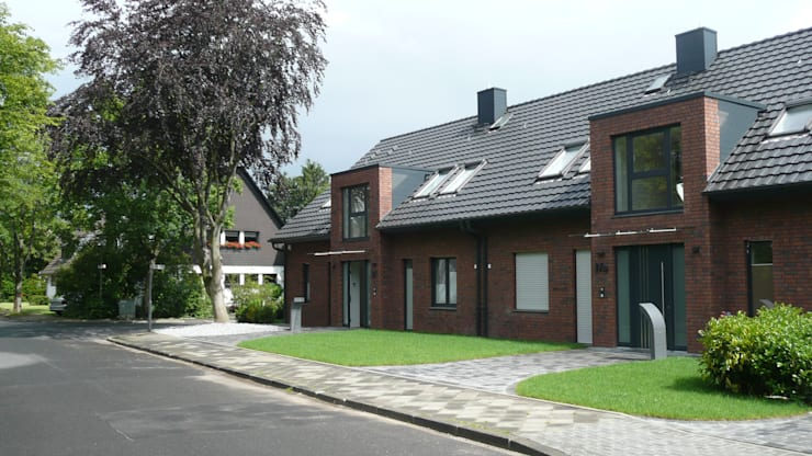 Дома в . Автор – Gritzmann Architekten, Минимализм
