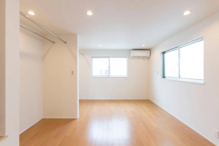 秦野浩司建築設計事務所의  침실