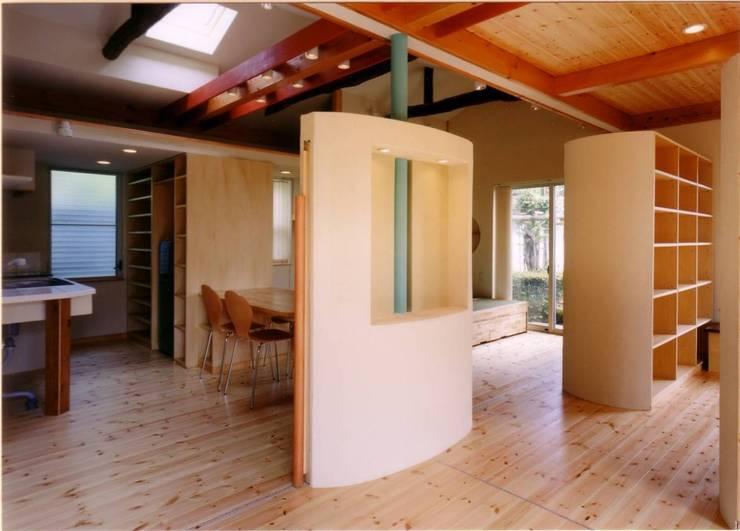 多機能の壁: 豊田空間デザイン室 一級建築士事務所が手掛けた壁です。