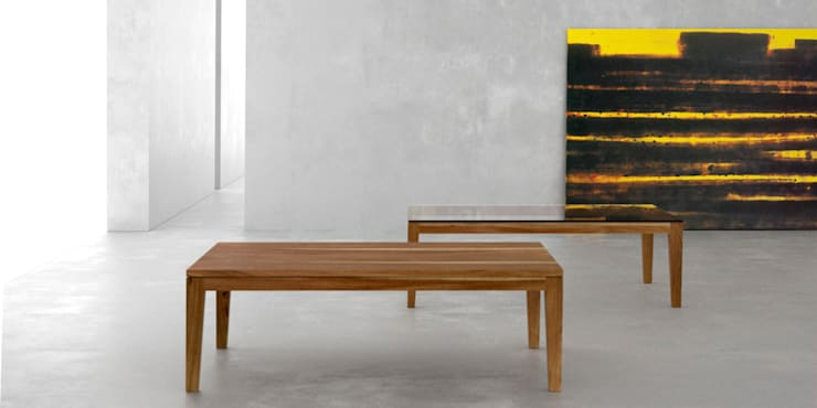 Mesa ratona classic: Livings de estilo  por Forma muebles,