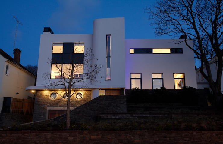 Wimbledon residence by inverse lighting design ltd homify