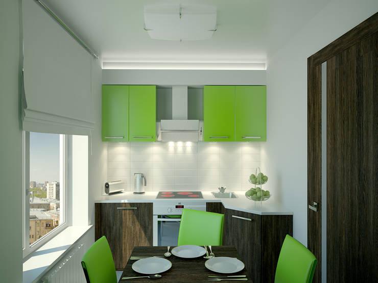 Cocinas de estilo  de Симуков Святослав частный дизайнер интерьера