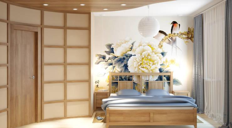 Симуков Святослав частный дизайнер интерьера의  침실