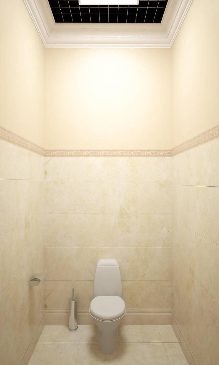 Салон красоты в ТЦ <q>Каштановая роща</q>: Ванные комнаты в . Автор – Симуков Святослав частный дизайнер интерьера