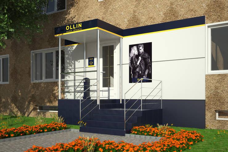 Салон красоты <q>Ollin</q>: Дома в . Автор – Симуков Святослав частный дизайнер интерьера, Минимализм