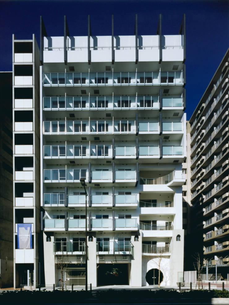 東側ファサード: あお建築設計が手掛けた家です。