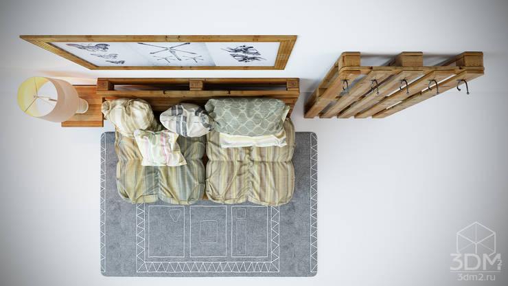 Мебельная композиция: Спальная комната  в . Автор – студия визуализации и дизайна интерьера '3dm2'