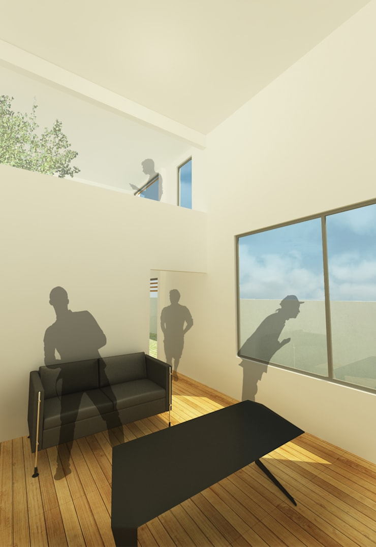 Casa I: Salas de estilo  por ODRACIR