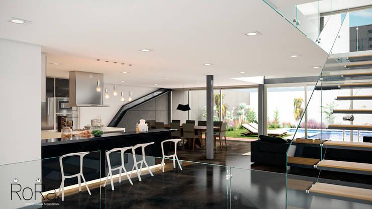Desarrollo de Interiorísmo : Cocinas de estilo  por LA RORA Interiorismo & Arquitectura
