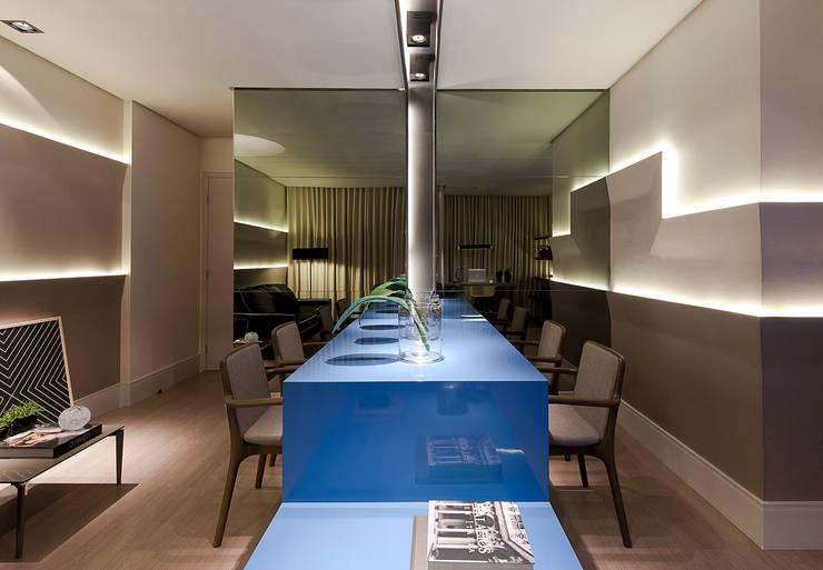 Comedores de estilo  por Matheus Menezes Arquiteto