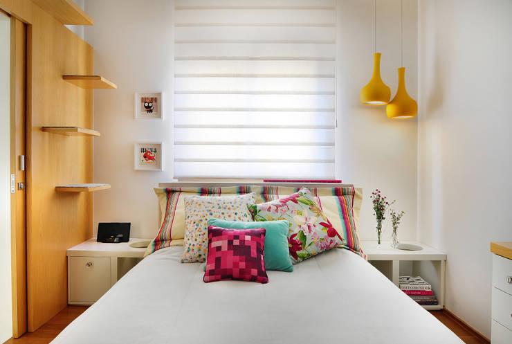 Thaisa Camargo Arquitetura e Interiores의  침실