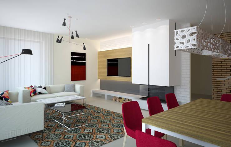 Медиа комнаты в . Автор – дизайн-студия Олеси Середы
